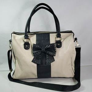 Large BETSY JOHNSON Tote weekender leather bag